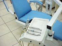 Gabinet dentystyczny, fotel